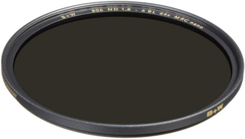66-1089231 B+W 82mm 1.8-64X Multi-Resistant Coating Nano Camera Lens Filter Gray