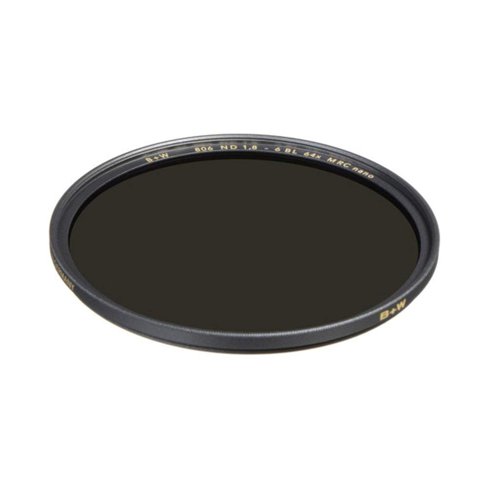 B+W 72mm 1.8-64X Multi-Resistant Coating Nano Camera Lens Filter, Gray (66-1089229) by B + W