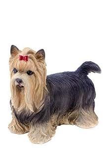 Hi-line regalo 87802perro–Yorkshire Terrier Estatua