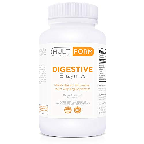Multiform Vitamins Digestive Enzymes - Digestion Aid (90 Capsules)