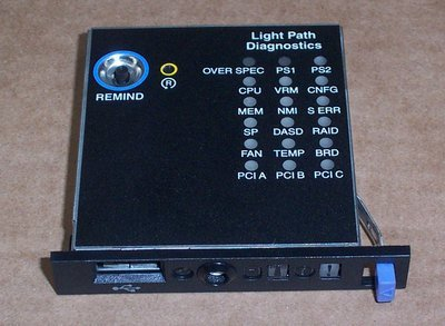 Ibm Light Path Diagnostics Panel
