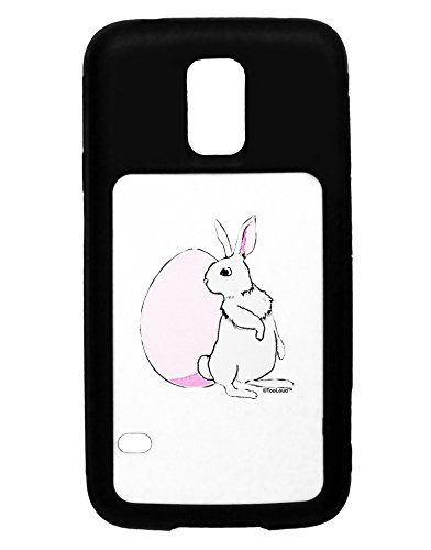 TooLoud Easter Bunny and Egg Design Black Dauphin iPhone 6 Plus Cover