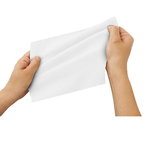 Heavyweight Cleansing Cloths, Unscented, Hygienic pH Balance(8 Sheets-8 Packs) by EZ-BATH (Image #4)