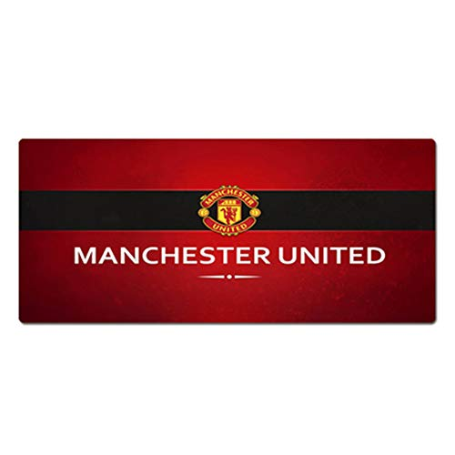Sports Oversized Mouse pad, Thickened Computer Desk pad, Non-Slip Keyboard pad, Football Star - Champions League/Arsenal/Chelsea/Manchester United/Real Madrid