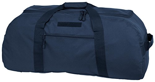 Mercury Tactical Gear Code Alpha Giant Convertible Duffel Bag with Backpack Straps, Basic, Navy Blue