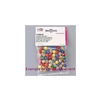 efco Diametro 10 mm 53 Perline in Legno