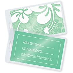 "7 Mil Luggage Tag Laminating Pouches w/Slot 2-1/2"" x 4-1/4"" (500/bx)"