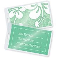 7 Mil Luggage Tag Laminating Pouches w/Slot 2-1/2 x 4-1/4 (500/bx)