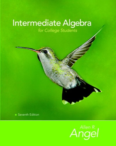 Intermediate Algebra for College Students Value Pack (includes MathXL 12-month Student Access Kit  & Student Solutio