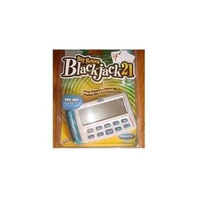 Big Screen Blackjack 21 Handheld Game: Featuring 2 Game Modes: Toys & Games