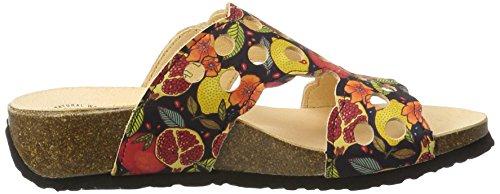 99 Mizzi Think Donna Multicolore multicolour Ciabatte vqUY1xaw4