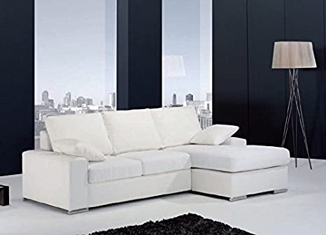 Angulo Interiores Sofá rinconera, de 3 plazas con Chaise ...