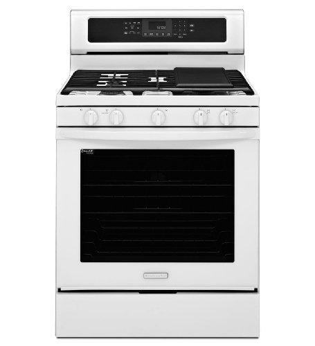 KitchenAid KGRS303BWH 30