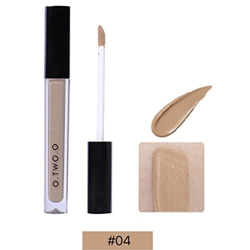 Hunputa Clean Invisible Lightweight Concealer , Wrinkles, Redness, Blemishes and Pore Cover,Full Covery Face Contour Cream Makeup (D)