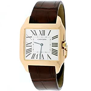 Cartier Santos Dumont automatic-self-wind male Watch W2006951 (Certified Pre-owned)