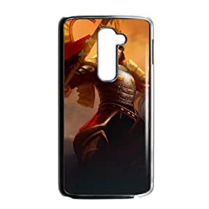 LG G2 Cell Phone Case Black League of Legends Winged Hussar Xin Zhao OIW0451918