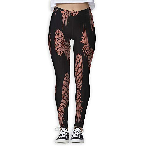 Price comparison product image Chu warm Womens Yoga Pants Pineapple Holiday Slim Fit Leggings Fitness Trousers