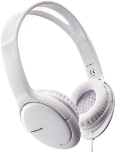 PIONEER CUFFIE PIONEER DINAMICHE OVER EAR MJ 711 BIANCO
