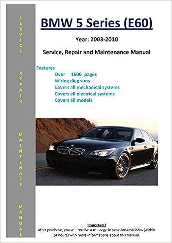 bmw service manual 5 series