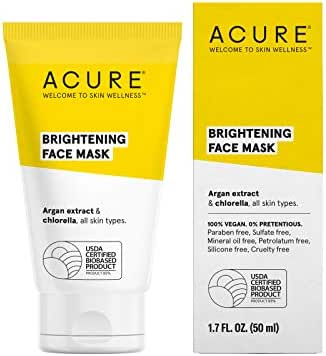 Facial Treatments: Acure Brightening Face Mask