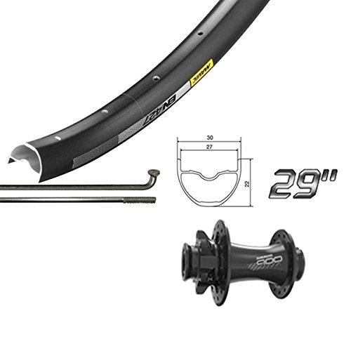 Wheel Shop Mavic EN427 Disc/ DT Champion Black Wheel Front 29'' 32 spokes Sram 900 15x110mm TA Disc 29' Wheels