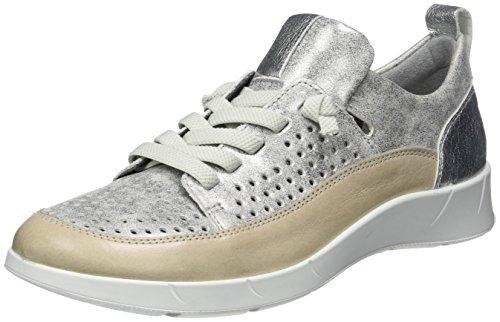 zinn Sneaker Donna Grau silber Ara Kopenhagen Basse fossil Awnza