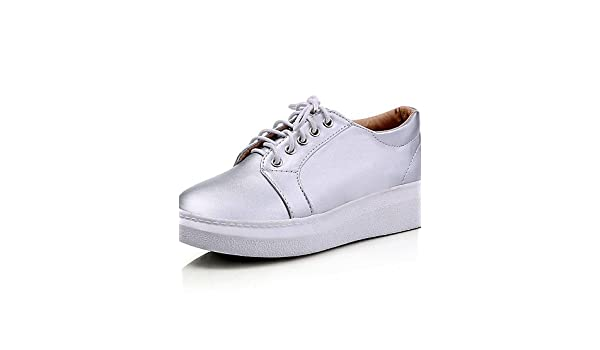 IOLKO - Zapatillas de bádminton para niña silver-us6.5-7 / eu37 / uk4.5-5 / cn37