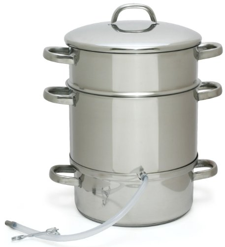Victorio VKP1140 Stainless Steel Steam Juicer for sale  Delivered anywhere in USA