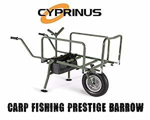 Cyprinus - Carro transportador para pesca (plegable, tamaño grande)