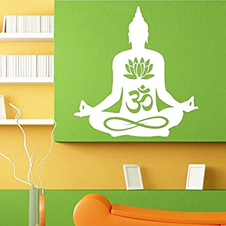 Cotizaciones de Buda Namaste Tatuajes de Pared Mandala de Yoga ...