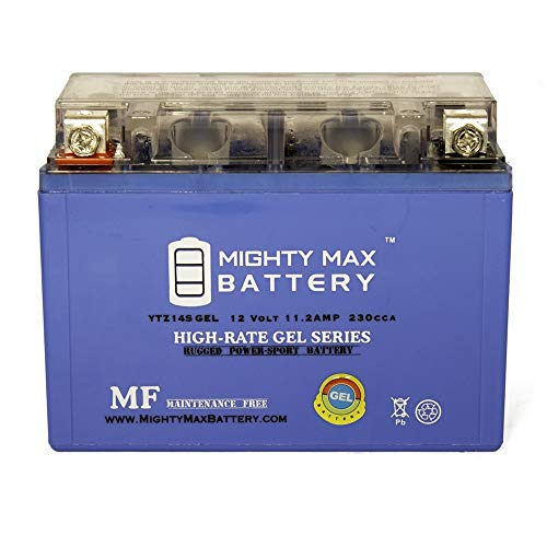 (Mighty Max Battery 12V 11.2Ah Gel Battery for Snowmobile Mowers PWC Watercraft Brand Product)