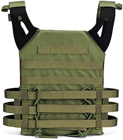 Will Outdoor Gilet Tactique CS Gilet De Protection sur Le Terrain Molle Cuirasse Gilet De Chasse en Plein Air Uniforme /équipement De Combat R/églable Gilet Unisexe