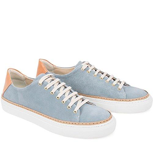 Steve Uomo Petrol Bianco Sneaker Sneaky w4gqxT6g