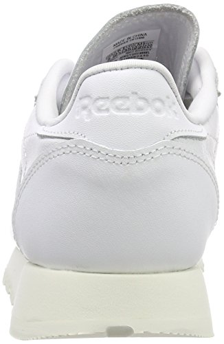 Blanc Cassé Whitechalk Baskets Leather Reebok Femme Classic Hardware Whitechalk wqXHXvF