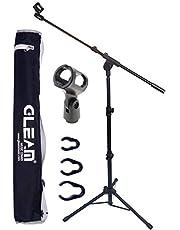 GLEAM Trípode Boom Soporte para micrófono – Soporte para micrófono con bolsa de transporte (Tripod)