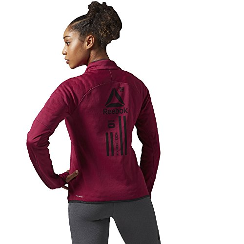 Reebok Women's Hex Thermal Quarter Zip Jacket by Reebok (Image #1)