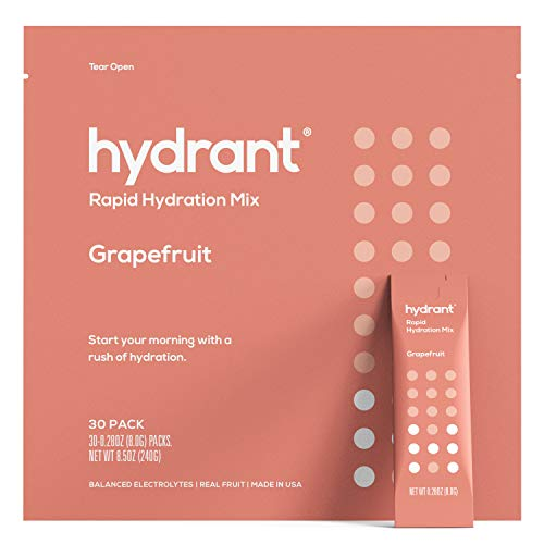 Grapefruit Hydration Electrolyte Dehydration Ingredients
