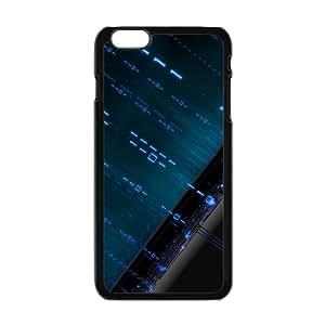 """Iphone 6 Plus Slim Case Blue Binary Design Cover For Iphone 6 Plus (5.5"""")"""