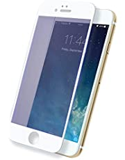 3D Curved Full Coverage Tempered Glass Screen Protector for iPhone 7 Plus - White