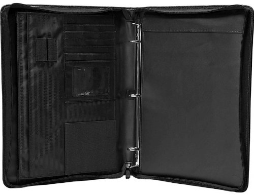 Amazon Com Case It Executive Zippered Padfolio With Removable 3