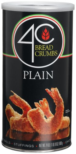 4C Plain Bread Crumbs, 24-Ounce Canisters (Pack of 6) by 4C (Image #1)
