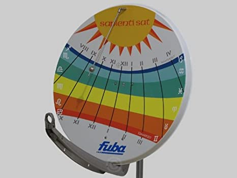 Fuba DAA 850 reloj de sol - antena parabólica de 85 cm: Amazon.es: Electrónica