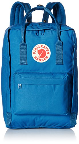 Fjallraven Kanken Laptop Backpack, Lake Blue, 15-Inch