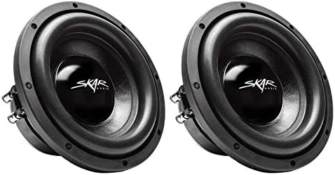 (2) Skar Audio IX-8 D2 8