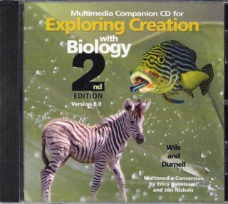Exploring Creation with Biology 2nd Edition Companion CD-ROM (Version 8.0)