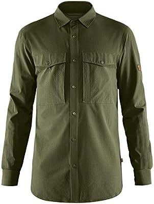 Fjallraven Abisko Trekking Shirt M Camisa de Senderismo con Manga Larga, Hombre, Verde (Laurel Green), XS: Amazon.es: Deportes y aire libre