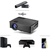 New fireCable 2k Projector | for Amazon Fire Stick, PS4, Xbox One, Galaxy Note 9 Dex & More