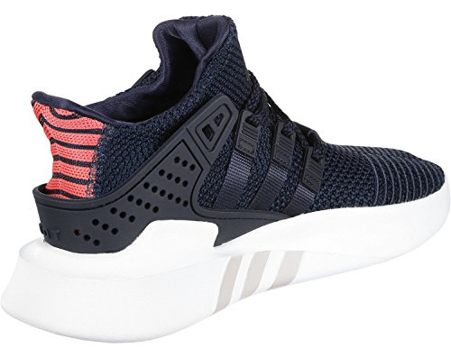 adidas Unisex-Kinder EQT Bask ADV Hohe Sneaker Blau (Collegiate Navy/Real Coral)