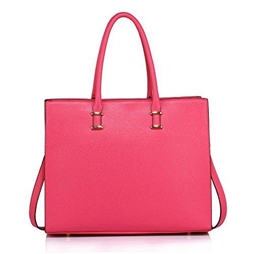 de sac cabas qualité femme Fashion en Desinger branché Sacs CWS00319 main Rose Hotselling à femme Sac UHRwHqdr