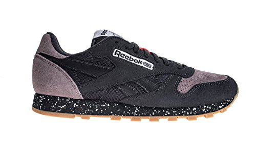 Reebok CL Leather SM Coal/Moondust/Black